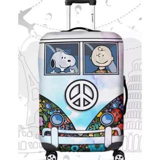 スヌーピー(SNOOPY)の大特価 スーツケースカバー スヌーピー   M(スーツケース/キャリーバッグ)