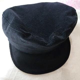 トゥデイフル(TODAYFUL)のキャスケット コーデゥロイ フリーサイズ 帽子(キャスケット)