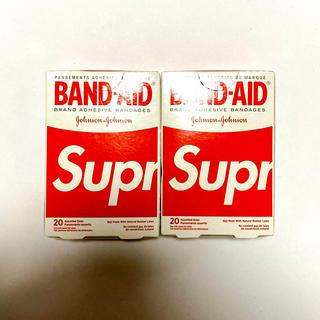 シュプリーム(Supreme)のSupreme BAND-AID 2つセット バンドエイド シュプリーム(日用品/生活雑貨)