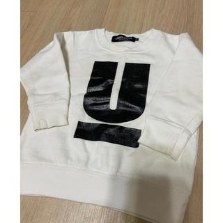 アンダーカバー(UNDERCOVER)のアンダーカバー スゥエット トレーナー Sサイズ 白 キッズ 子供 90ぐらい(Tシャツ/カットソー)