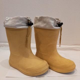 ムジルシリョウヒン(MUJI (無印良品))の18〜19cm 無印良品 長靴 レインブーツ(長靴/レインシューズ)