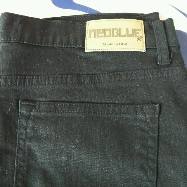 黒デニム メンズのパンツ(デニム/ジーンズ)の商品写真