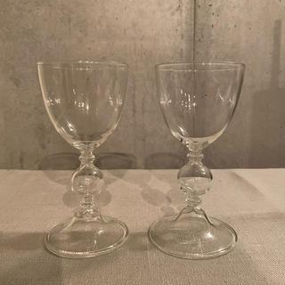 アッシュペーフランス(H.P.FRANCE)のastier de villatte(アスティエ・ド・ヴィラット)ワイングラス(グラス/カップ)