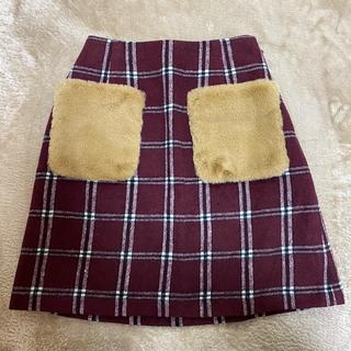 ハニーズ(HONEYS)のHoneys ポケット付 スカート(ミニスカート)