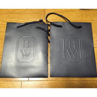 ハリーウィンストン(HARRY WINSTON)のハリーウィンストン ショッパー袋 2枚(ショップ袋)