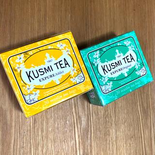 KUSUMI TEA エクスピュア オリジナル& エクスピュア アディクト(茶)