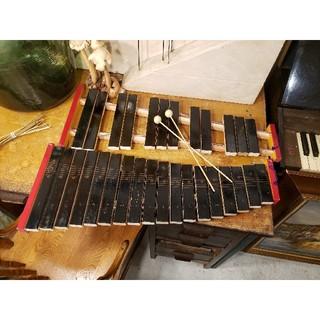 Zen-on 木琴 打楽器 半音付き バチ付き もっきん 教育用