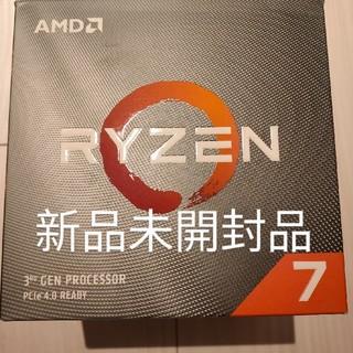 エイスース(ASUS)の【新品未開封品】AMD Ryzen7 3700X(PCパーツ)