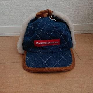 ロデオクラウンズワイドボウル(RODEO CROWNS WIDE BOWL)の売り切り価格 RCWB デニムフライトキャップ(キャップ)