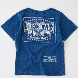 ロデオクラウンズワイドボウル(RODEO CROWNS WIDE BOWL)のRODEO CROWNS WIDE BOWLキッズ カラーパッチ Tシャツ(Tシャツ/カットソー)