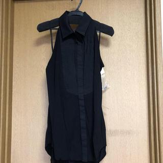 ダブルスタンダードクロージング(DOUBLE STANDARD CLOTHING)の新品 ダブルスタンダードクロージング ノースリーブ パーティー結婚式記念日(カットソー(半袖/袖なし))