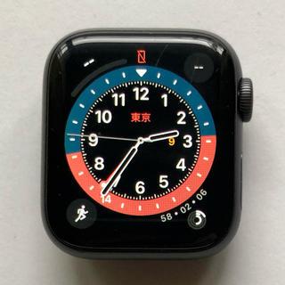 アップルウォッチ(Apple Watch)のApple Watch Series 4 40mm スペースグレイ 正常動作品(腕時計(デジタル))