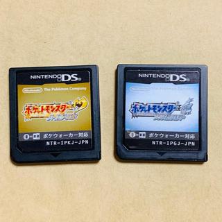 ニンテンドーDS(ニンテンドーDS)のポケモン ハートゴールド ポケットモンスター ソウルシルバー DS ソフト(携帯用ゲームソフト)