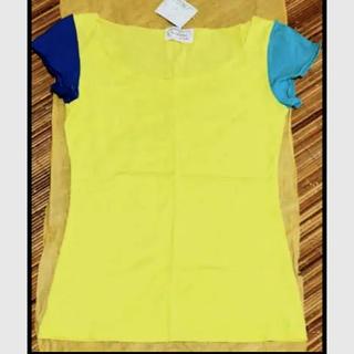ウンナナクール(une nana cool)の新品タグ付き ワコール LUNCH ・フレンチスリーブ丈 Tシャツ(Tシャツ(半袖/袖なし))