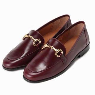 イエナスローブ(IENA SLOBE)の新品未使用!MARION TOUFETビットローファー(ローファー/革靴)