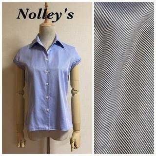 NOLLEY'S - Nolley's  ストライプキャップスリーブブラウス