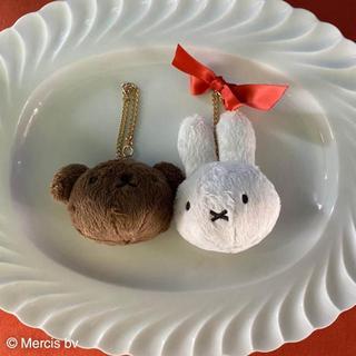 【新品未使用】ミッフィー &ボリス ×メゾンドフルール チャーム2点セット