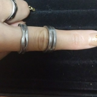 カルバンクライン(Calvin Klein)のカルバンクライン ステンレスリングセット(リング(指輪))
