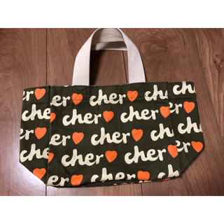 シェル(Cher)のcher  シェル  ミニトートバッグ(トートバッグ)