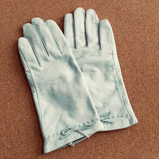 クレージュ(Courreges)のcourreges レザー手袋(手袋)