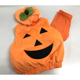 コストコ(コストコ)のBOOBABIES ベビーハロウィンコスチューム 9-18ヶ月 かぼちゃ(衣装)