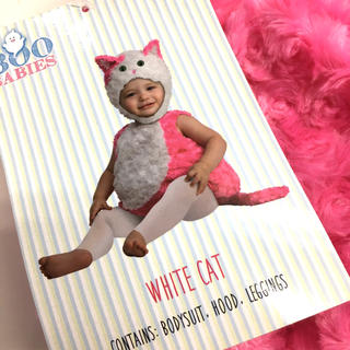 コストコ(コストコ)のBOO BABIES ベビーハロウィン コスチューム 0-9ヶ月 猫ちゃん(衣装)