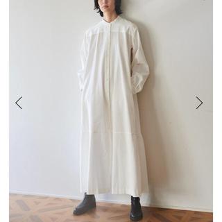 Edition - bacca コットンピケシャツドレス