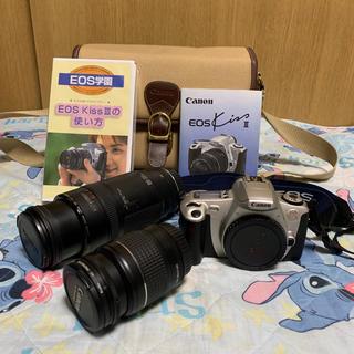 キヤノン(Canon)の10月セール 美品 カメラEOSKissⅢ レンズ2本 豪華セット(フィルムカメラ)
