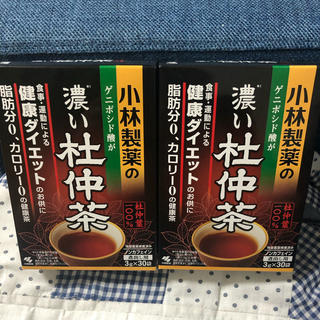 コバヤシセイヤク(小林製薬)の濃い杜仲茶(健康茶)