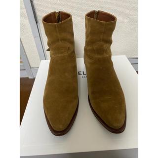 セリーヌ(celine)のCELINE 19SS JACNO back zipped boots エディ(ブーツ)