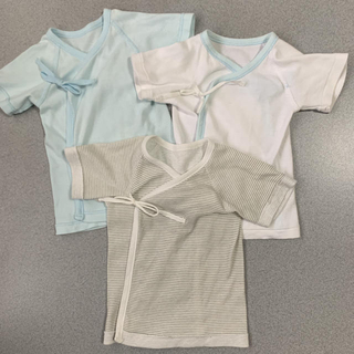 ニシキベビー(Nishiki Baby)のニシキ 新生児肌着 短肌着 3枚セット(肌着/下着)