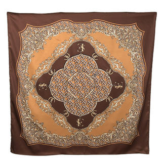 エイミーイストワール(eimy istoire)のLimited ES patternスカーフ BROWN(バンダナ/スカーフ)