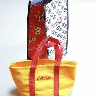 コカコーラ(コカ・コーラ)のコカ・コーラ☆クーラーバッグ&ランチバッグ(ノベルティグッズ)
