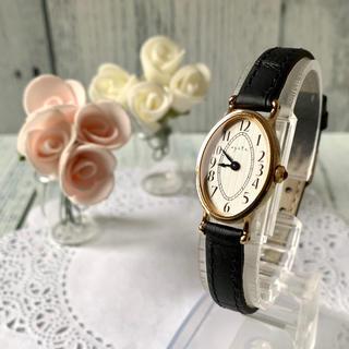 アガット(agete)の【電池交換済み】agete アガット ウォッチ 腕時計 ゴールド オーバル(腕時計)