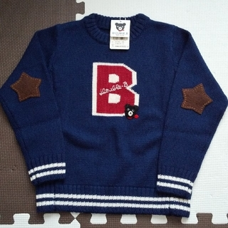 DOUBLE.B - 【新品 】ダブルB セーター 110