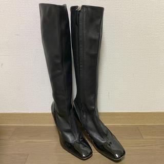 ジュゼッペザノッティデザイン(Giuseppe Zanotti Design)のジュゼッペザノッティ レザーブーツ ロングブーツ 38  25cm(ブーツ)