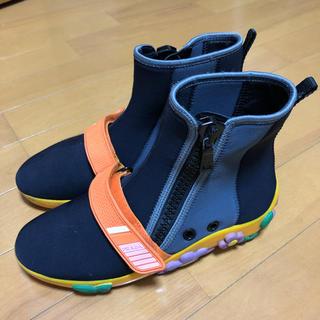 プラダ(PRADA)の希少 prada フラワー スニーカー ブーツ(ブーツ)