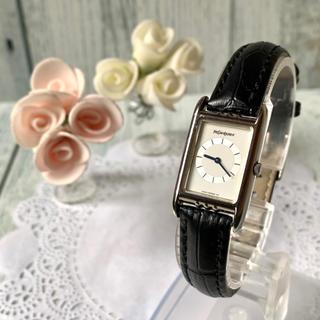 Saint Laurent - 【電池交換済み】Yves Saint Laurent 腕時計 スクエア シルバー