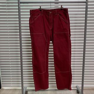 シュプリーム(Supreme)のsupreme double knee painter pant red 36(ペインターパンツ)