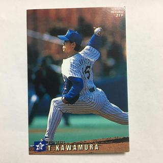 ヨコハマディーエヌエーベイスターズ(横浜DeNAベイスターズ)のプロ野球カード1999年 川村丈夫 背番号16 横浜ベイスターズ(スポーツ選手)