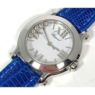 ショパール ハッピースポーツ ダイヤ 5P 腕時計 Chopard Sport
