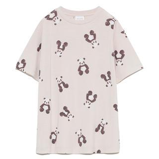 ジェラートピケ(gelato pique)のジェラートピケ パンダ柄Tシャツ&パンダ柄ショートパンツ(ルームウェア)