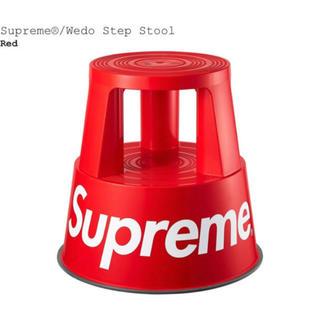シュプリーム(Supreme)のSupreme Wedo Step Stool red(スツール)