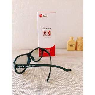 エルジーエレクトロニクス(LG Electronics)のLG CINEMA 3DGLASSES 2個入り 新品 送料無料(その他)