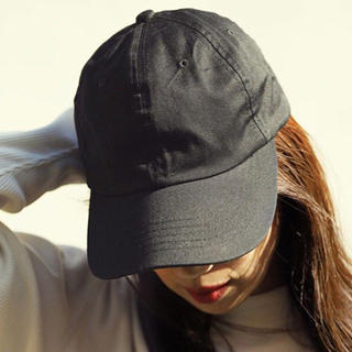マザー(mother)の【FORME】LOW CAP【ブラック】東原亜希MOTHER(キャップ)