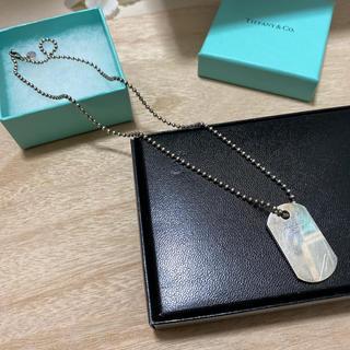Tiffany & Co. - Tiffany ヴィンテージドッグタグネックレス