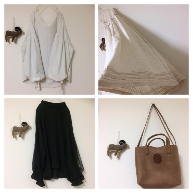 STUDIO CLIP(スタディオクリップ)のゆったり◯大きめ◯ナチュラルコーディネート福袋◯リネン/ボリューム袖/新品バッグ レディースのレディース その他(セット/コーデ)の商品写真