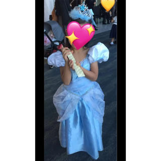 Disney - Disney シンデレラドレス110