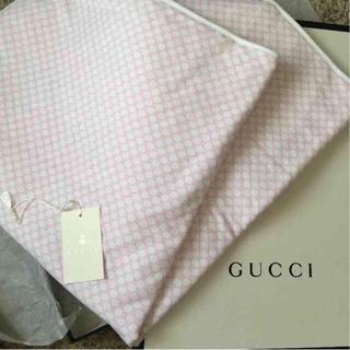 グッチ(Gucci)の値下げ中GUCCI コットンブランケット(おくるみ/ブランケット)