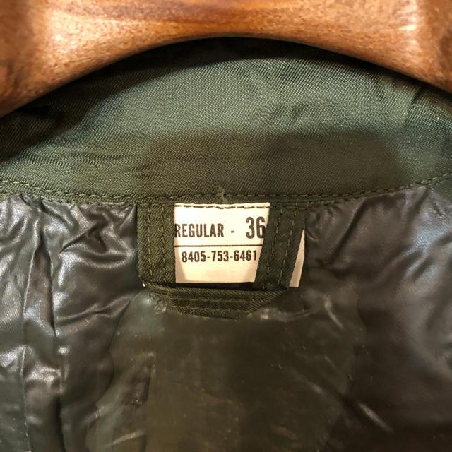 HYKE(ハイク)の貴重 未使用 1960s ビンテージ 米軍 ナイロン ラバー レインコート メンズのジャケット/アウター(ミリタリージャケット)の商品写真